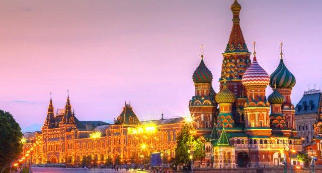 Maija brīvdienas Maskavā