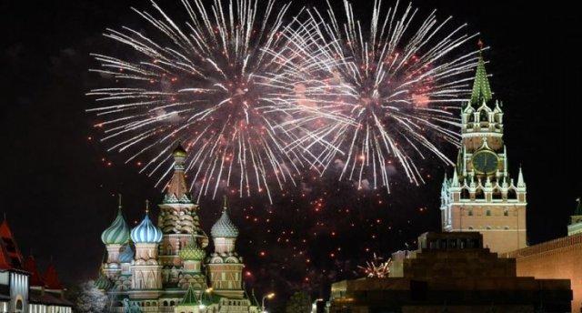 Jaunā gada sagaidīšana Maskavā