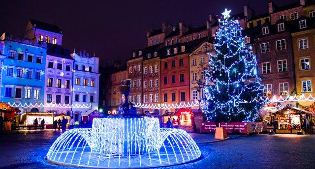 Jaunā 2018. gada sagaidīšana Varšavā! Gaismas burvju labirinti un Fantāziju dārzs! SAPŅI PIEPILDĀS!