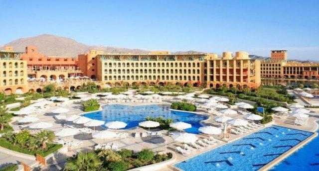 """Atpūta pie Sarkanās jūras Ēģiptē """"Strand Beach & Golf Resort Taba Heights"""" ***** viesnīcā (8 dienas) (Cena var mainīties sakarā ar aviobiļešu sadārdzinājumu)"""