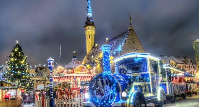 Tallina un Brīvdabas muzejs Ziemassvētku noskaņās!