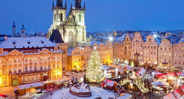 Ziemassvētki Čehijā -Prāga, Karlovi Vari, Drēzdene. Garantēts!