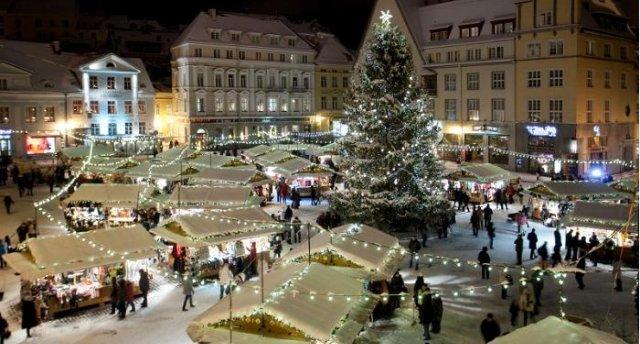 Ziemassvētku pasaka Tallinā un Tartu