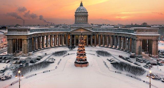 Jaunais 2018. gads Sanktpēterburgā!