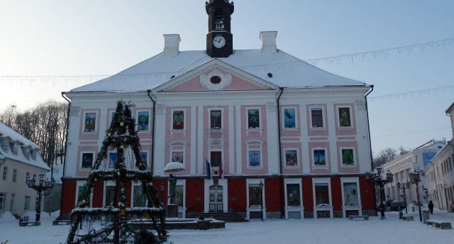 Tartu Ziemassvētku noskaņās (AHHAA centrs un ekskursija)