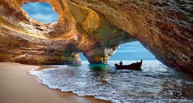 Portugāle ar atpūtu Portugāles dienvidos pie okeāna: gar okeāna piekrasti no Lisabonas līdz Algarvei