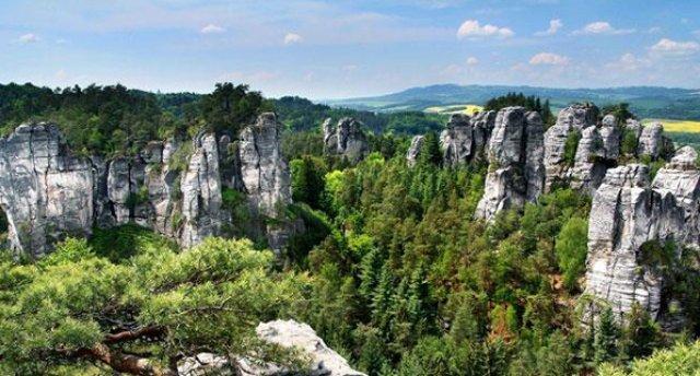 Čehijas kalnu paradīze vai pa pasaku filmu pēdām! 5 dienas! Andršpach–Teplices klintis - Českij Raj kalnu parks - Čehu Šveice - Prāga!