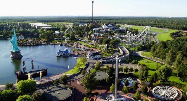 """GARANTĒTS ! Bērnu atrakciju parki Vācijā. (Ūdens parks """"Tropical Islands Resort"""" – atrakcijas Heide Parkā – Termālie baseini """"Soltau"""" – Safari parks """"Serengeti"""")"""