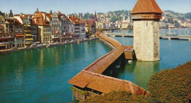 Šveice - Alpu ieskautie ezeri, Monblāns un skaistās pilsētas. (Bādenbādene – Lucerna – kruīzs pa Lucernas ezeru – Intrelakena – Reinas ūdenskritums – Montre – Šamomī – Monblāna masīvs – Aiguille du Midi – Kolmāra)