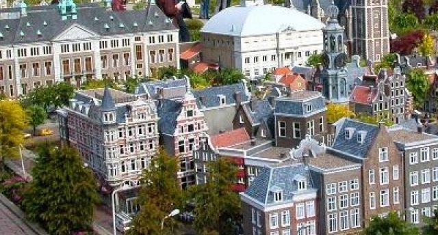 Ziedošā Holande maijā