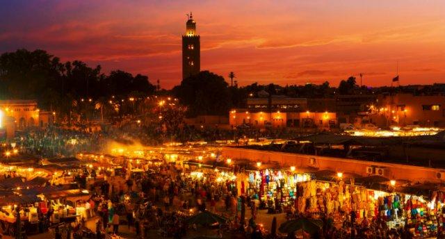 Jaunā 2018. gada sagaidīšana saulainajā Marokā!