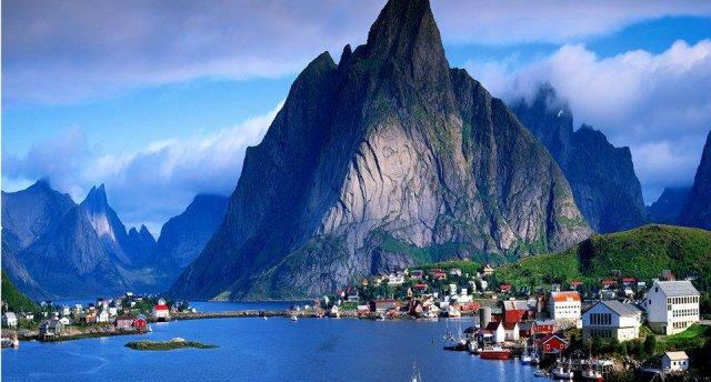 Skandināvija pa Baltijas jūru