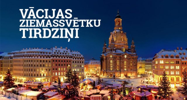 Vācijas Ziemassvētku tirdziņi! Berlīne - Potsdama!