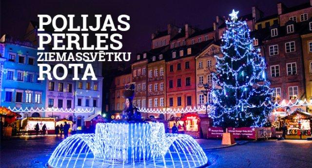 Polijas pērles Ziemassvētku rotā! Galvaspilsēta Varšava - katoļu svētnīca Jasna Gora - senā karaļu pilsēta Krakova - sāls meka Veļička - Tatru kalnu kūrorta pērle Zakopane!