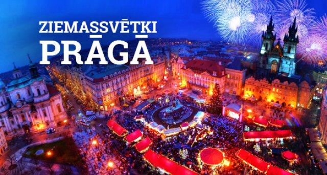 Ziemassvētki Prāgā! Prāga – Karlovi Vari - Drezdene!