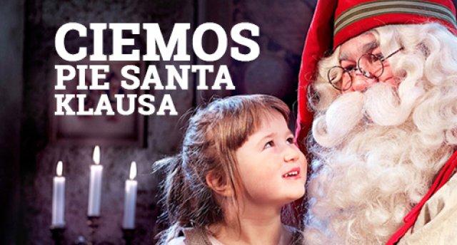 Ciemos pie Santa Klausa! Ziemas pasaka sniegbaltā Lapzemē!