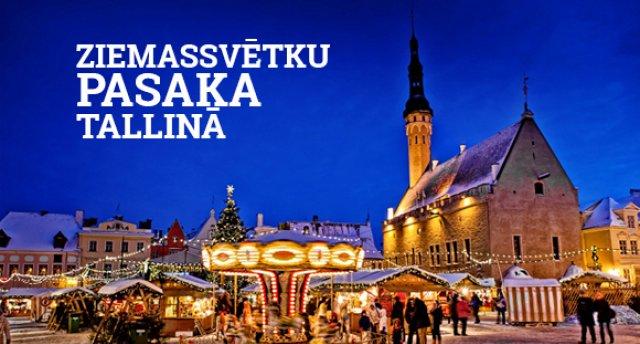 Ziemassvētku pasaka Tallinā! 2 neaizmirstamas dienas skaistākajā Baltijas pilsētā!