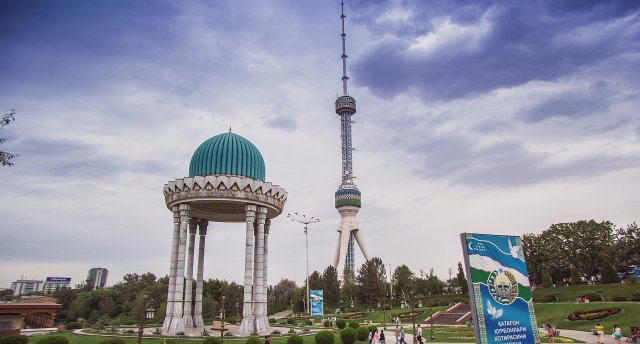 Uzbekistānas melones un Samarkandas plovs