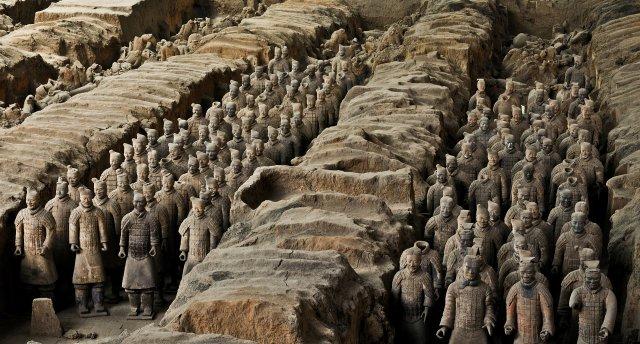 Ķīnas vēstures liecības - no Pekinas līdz Terakotas armijai